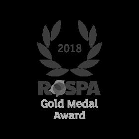 Galldris 2018 ROSPA Gold Medal Award