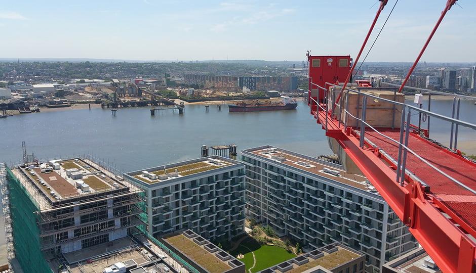 Galldris Roayal Wharf crane