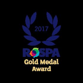 Galldris 2017 ROSPA Gold Medal Award