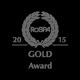 Galldris 2015 ROSPA Gold Medal Award