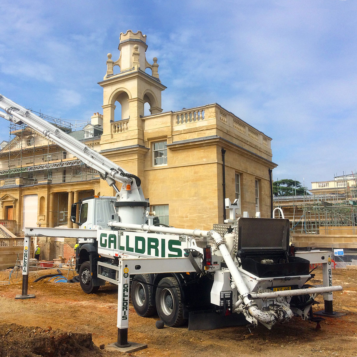 Galldris Concrete Pump