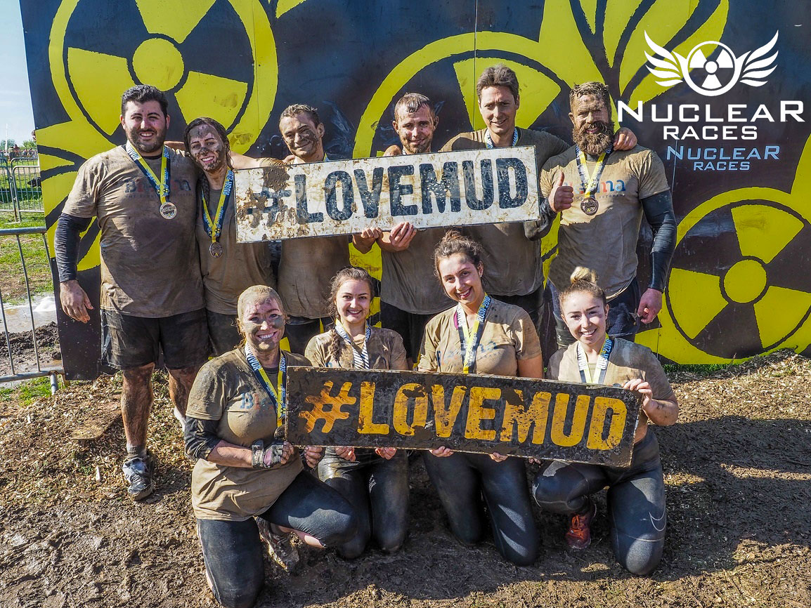 Galldris Nuclear mud run 2018