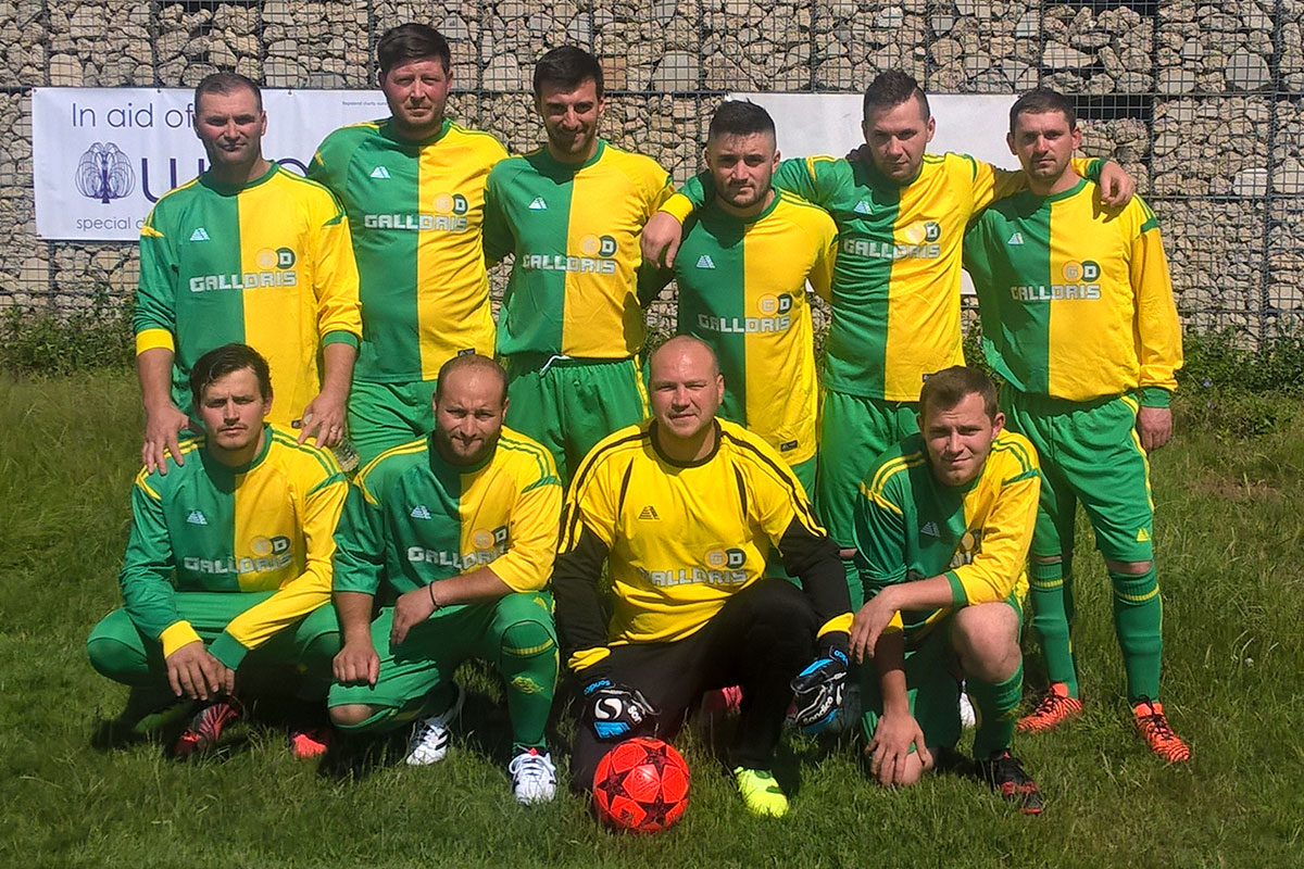 Galldris Royal Wharf Football Team