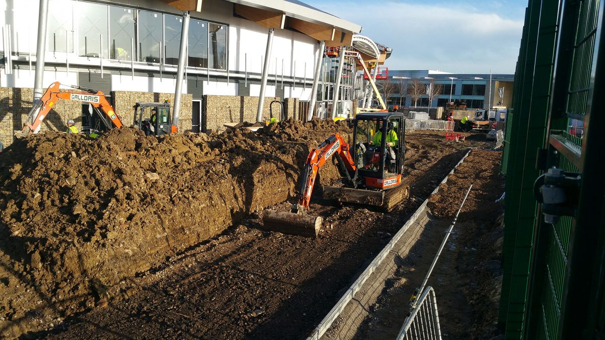 Galldris Welwyn garden City build