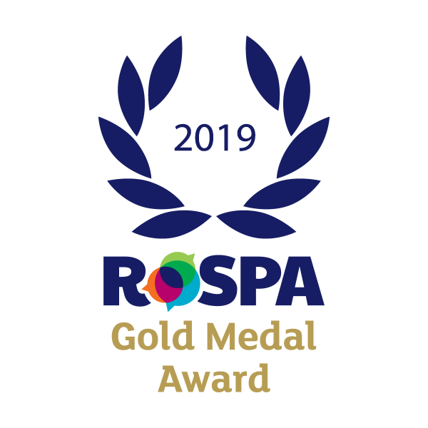 2019 RoSPA Gold Medal Award for Galldris